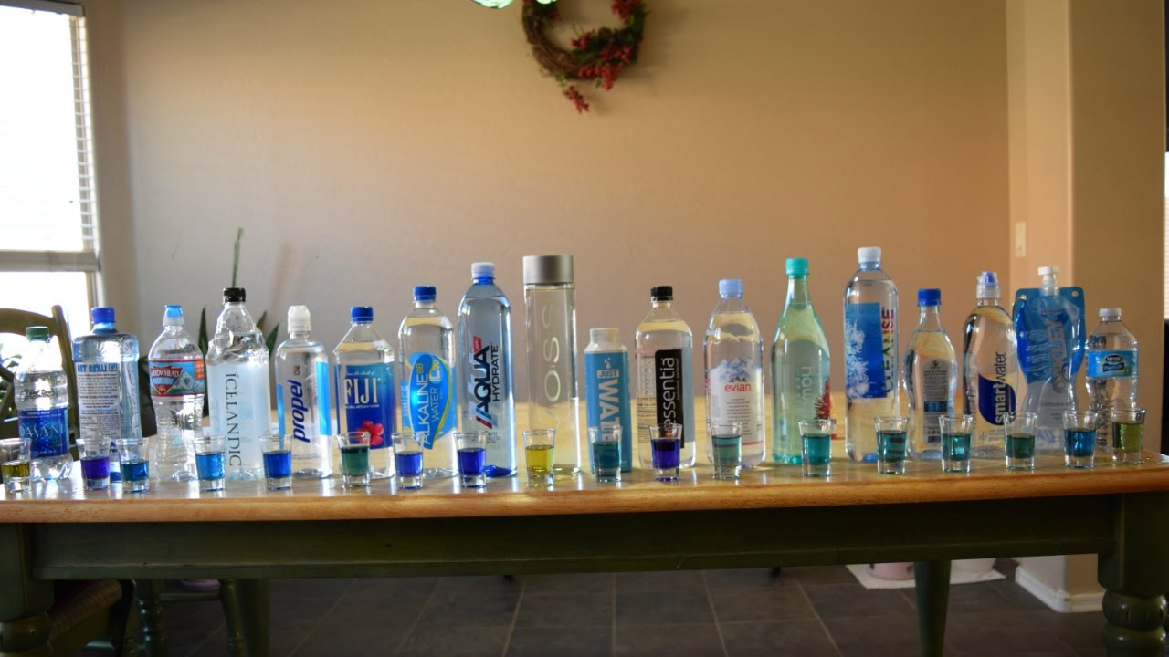 18 Brand Names Of Bottled Water Tested For Ph Tds