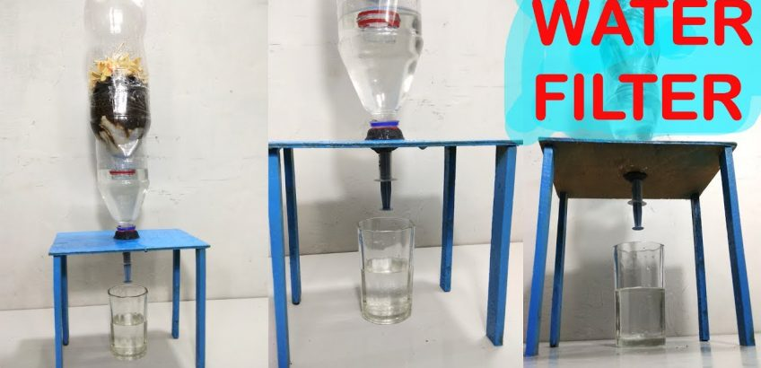 How To Make Water Filter At Home Easy Way Diy Pure Water